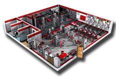 Commercial Fitness Facility Design | Installation Showcase | professional design | Cybex
