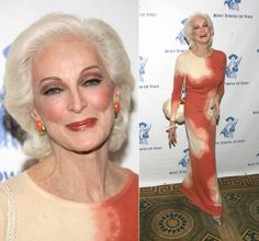 Carmen Dell'Orfice  At 81, the worlds oldest working model. I want to know her secret.