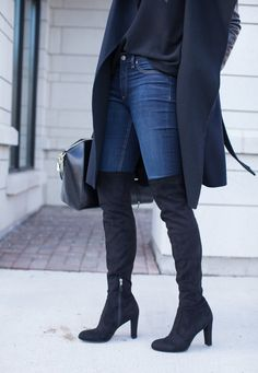 Sam Edelman Kent over the knee boots, how to wear over the knee boots