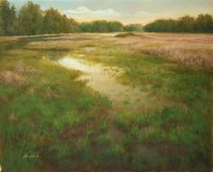 """Beth Norwood oil - """"Be Still and Know"""""""