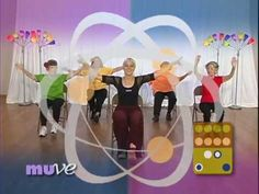 www.muve.com • The MUVE-along Method is a fun and easy way to get moving at home. As you follow the MUSE loosely you create each movement to feel good to you. Enjoy the island music of John Cruz as you refresh your mind while moving all your body parts. These are balancing and stretching exercises for seniors. Exercising at home saves time and m...