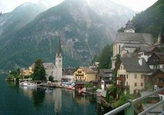 Halstatt, Austria.  Thanks to Sue Sterling for the photo!