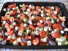 Cuketa po řecku Czech Recipes, 20 Min, Fruit Salad, Food Inspiration, Ham, Salads, Veggies, Food And Drink, Low Carb