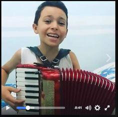 Sanfoneiro Mirim Lan Messias, de apenas 09 anos, dá cidade de Santo André na Paraíba.  #PuxaOFole  https://www.facebook.com/mohi.shaj/posts/646278362211235