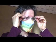 NÁVOD NA ROUŠKA (NEJEN) PRO LIDI S BRÝLEMI / FACE MASK MANUAL (NOT ONLY) FOR PEOPLE WITH GLASSES - YouTube