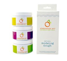 Clementine Art Natural Modeling Dough: $11