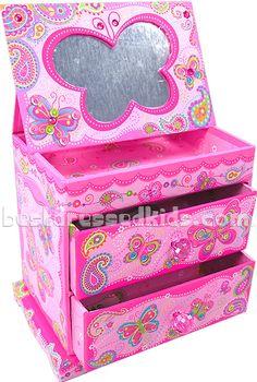 Butterfly Music Jewelry Box  #bestdressedkids.com
