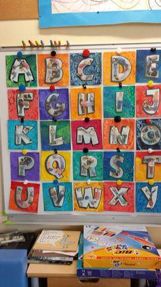 Alphabet chez Stasia