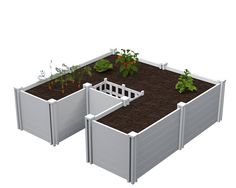 African Keyhole Garden Bed - Vita ... drought resistant, self watering and fertilizing