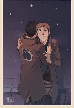You made it Marco. You're here, in my arms... *hugs you in daze*