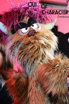 Out Of Character Creations - Puppets - TREKKIE MONSTER - The making of the Q 2014 for Rehearsal Room / CTGinc