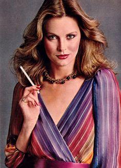 Glamour magazine, March 1981. Ce sont les cigarettes que je fumais dans mon adolescence....
