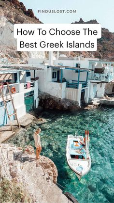 Visiting the Greek Islands? This guide covers the best Greek Islands (from Santorini's sunsets to Milos' moonscape beaches to Mykonos' parties), plus photos and tips for traveling to Greece. Find all of our Greek Island guides on finduslost.com. #greekislands #santorini #mykonos #ios #naxos #paros #milos #finduslost Oh The Places You'll Go, Places To Travel, Travel Destinations, Places To Visit, Dream Vacations, Vacation Spots, Vacation Travel, Adventure Awaits, Adventure Travel