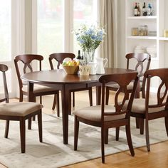 Generally, the formal dining room sets of our homes turn out to be difficult to settle spaces. Situated in no man's land, some take place in the living Dining Table With Leaf, Formal Dining Tables, Wooden Dining Tables, Extendable Dining Table, Dining Table In Kitchen, Dining Table Chairs, Dining Room Furniture, A Table, Coaster Furniture
