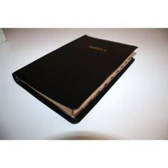 BIBELE HALALELANG (Mongolo wa Rephavoliki) / BIBLE Southern Sotho Language Standard Orthography / Luxury black Leather Bible - Golden Edges, Thumb Index   $119.99
