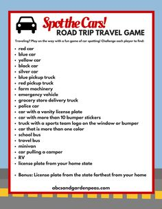 Family Road Trip Survival Guide: Free Printables to make the long drive more fun. Games, activities, ideas for the whole family to enjoy in the car! Road Trip Activities, Road Trip Games, Road Trip With Kids, Family Road Trips, Family Travel, Car Ride Games, Kids Travel Games, Angeles, Car Travel