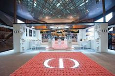 Dior Bed Of Roses Garden At Doha Airport Welcomes Visitors With 6,000 Hand Planted Blooms