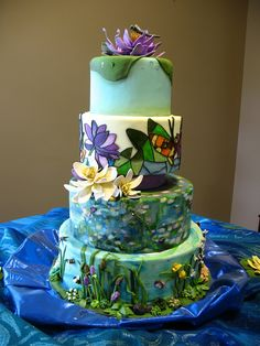 2012 Great American Cake Show by CakeArtNC, via Flickr. This is truly a work of art.