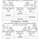 This file contains two anchor charts on verb tenses. Each chart is half a sheet so that it fits nicely in an interactive reading notebook. One char...