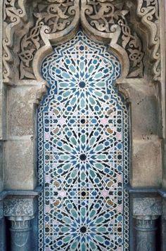 MOR 1122 Rabat Mosque, Rabat in Morocco | Pattern in Islamic Art