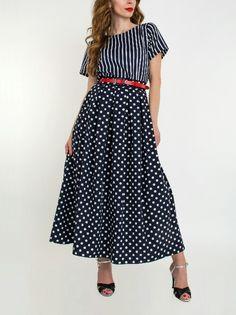Длинная юбка и рубашка
