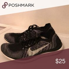 3328a1a5b0b9 Black and white nike free runs 4.0 Super good shoes for running. Fit super  well to the feet. Black and white nike free runs 4.0. Women s size 8.5.