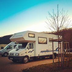 Guten Abend aus der Nähe von #metzingen .🤗 Hier bekommt unser geliebter Phoenix morgen eine technische Erneuerung 💥🧡👏 Was genau uns morgen bevorsteht verraten wir euch aber noch nicht 🤣 aber ihr dürft gerne raten und kommentieren 🚀 . . . . . #ontheroad #sheisontheroadagain #vanlife #vanlifestyle #vansweetvan #vanlifemoments #vanlove #vanvibes #stellplatz #camping #camper #campervanlife #campingguide #blogger #travelblog #travelbloggerlife #phoenix_reisemobil #travellife #vanlifegermany # Motorhome Travels, Portugal, Strand, Recreational Vehicles, Phoenix, Camper, Travel, Acre, Ideas