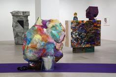 Rachel Harrison Installation view The Help Greene Naftali New York 2012