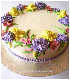 Buttercream flowers (Cakes)