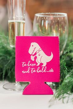 Fun and Quirky Wedding Favors // A Colorful Modern Elegant Charlotte Wedding via TheELD.com Red And White Weddings, Pink Weddings, On Your Wedding Day, Perfect Wedding, Quirky Wedding, Allure Bridal, Dance The Night Away, Simple Weddings, Paper Goods