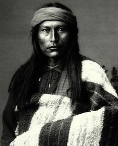 Chief Naiche, youngest son of Cochise, Chiricahua Apache.