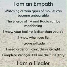 """Ok I'm not some hokey pokey """"healer"""" or an """"empath"""" but I HAVE empathy and I relate to this so much."""