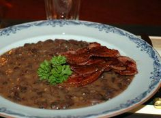 Bruna Bönor is a traditional Swedish food recipe of brown beans.