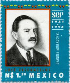 GRANDES EDUCADORES JOSÉ VASCONCELOS, MÉXICO 1993