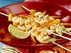 Weight Watchers Points Plus Shrimp Kabobs      This is an EASY Weight Watchers 3 PointsPlus+ Recipe.