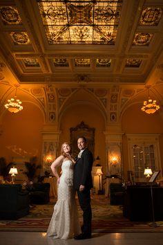Planner: Angela Proffitt  Venue: The Hermitage Hotel, Nashville Photographer: Matt Andrews Photography