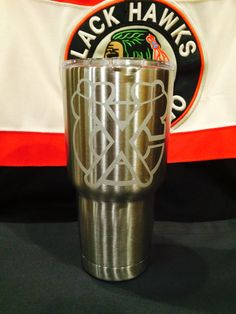 Chicago Blackhawks Yeti