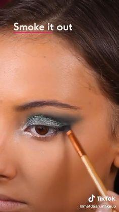 Jlo Makeup, Fast Makeup, Dope Makeup, Glamour Makeup, Makeup Eye Looks, Eye Makeup Steps, Contour Makeup, Eyebrow Makeup, Bronzer Makeup