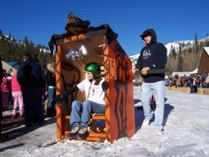 Outhouse Races - Washington State, USA. This sounds like something a redneck would do.