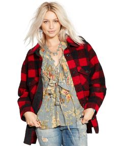 Denim & Supply Ralph Lauren Checkered Hunting Jacket