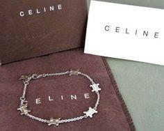 Celine Logo Chain Bracelet