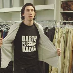 of course kylo ren would wear that