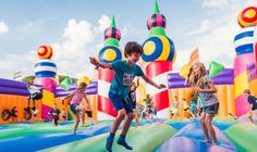 Camp Bestival, We Are Family, Water Slides, Party Accessories, Friends Family, Camping, Kids, Children, Castles