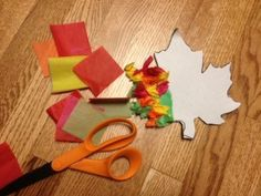 Quick and easy seasonal craft to be used with lots of different goals!
