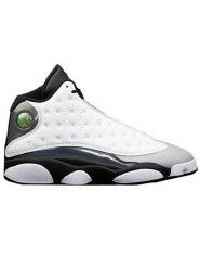 Authentic 414571-115 Air Jordan 13 Retro White/Tropical Teal-Black-Wolf Grey $139.00 http://www.theblackkicks.com