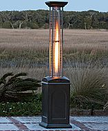 Experience efficient heating with Mocha Finish Square Flame Heater. Add the Mocha Finish Square Flame Heater to your outdoor space today! Propane Patio Heater, Outdoor Heaters, Outdoor Heating Ideas, Outdoor Ideas, Outdoor Decor, Frankfurt, Small Space Living, Living Spaces, Tiny Living