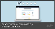 A 10 Point Audit for Blog Posts | by @RussHenneberry  | #BloggingTips #ContentCreation | Digital Marketer blog by Russ Henneberry | Conduct a blog post audit. Learn the 10 elements to score on every blog post and get access to our free Blog Post Audit tool.