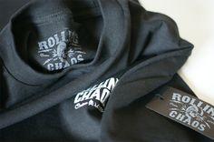 "Rolling Chaos ""Death Ride"" Tee available from www.rollingchaos.com Swing Tags, Rolls, Death, Sweatshirts, Tees, T Shirts, Buns, Bread Rolls, Sweatshirt"