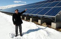 Rusya'ya inat Erzurum'a güneş enerjisi santrali - Rusya\'ya inat 1 milyon euro\'luk güneş enerji sistemi kurdu