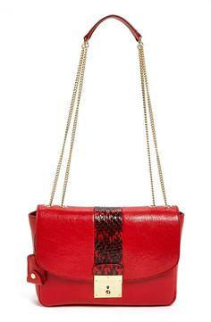 Red, hot satchel